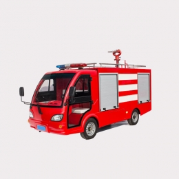 electric fire truck government firefighting department using of MAIJSN