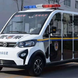 electric patrol car for police using security using exhibitor gate using of MAIJSN