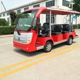 open type electric shuttle passenger bus electric person mover bus of MAIJSN
